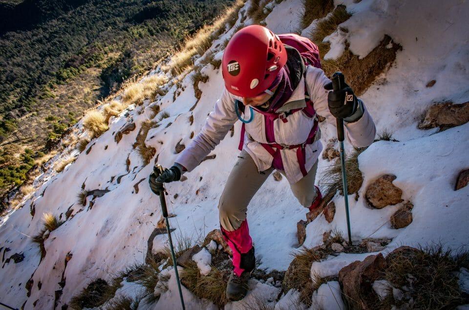 Pretemporada en el Nevado de Colima